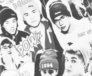 justin bieber and Collage image