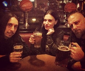 bar, beer, and Lacuna Coil image