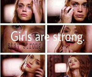 girl power, holland roden, and sad quotes image