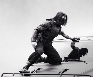 bucky barnes and the winter solider image