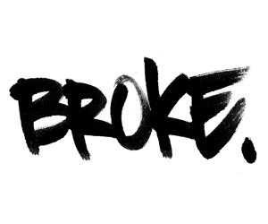 broke and no money image