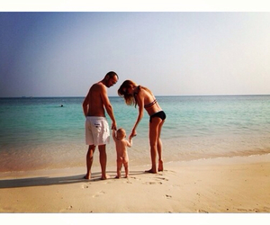 baby, family, and summer image