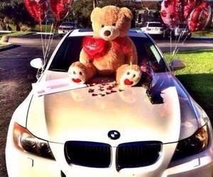 love, bmw, and car image