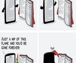 book, funny, and true image