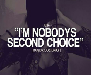 girl power, nobody, and second choice image