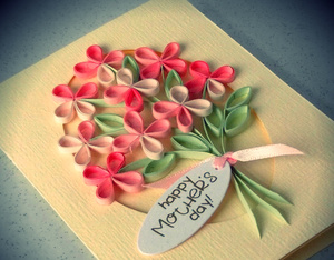 diy, flowers, and mom image