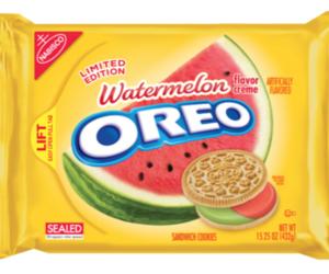 oreo, watermelon, and food image