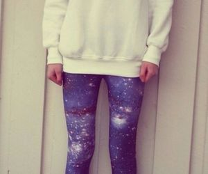 cat, galaxy, and outfit image