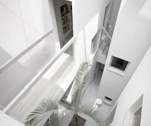 white, house, and interior image