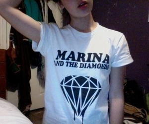 marina and the diamonds, pale, and grunge image
