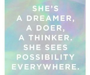 dreamer, girls, and power image