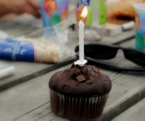 birthday, candle, and fire image