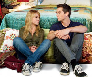 dylan o'brien, the first time, and britt robertson image
