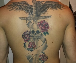 back tattoo and tattoo image