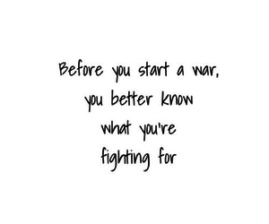 war, quote, and fight image
