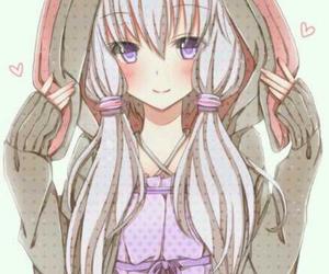 girl, yuzuki yukari, and cute image