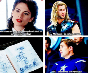 captain america, monkey, and the avengers image