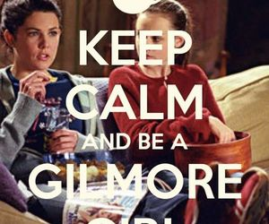 gilmore girls, keep calm, and rory image