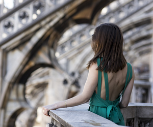girl, travel, and view image