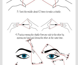 diy, eyebrows, and tutorial image
