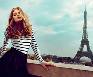 paris, fashion, and model image