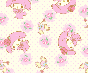 pink, cute, and my melody image