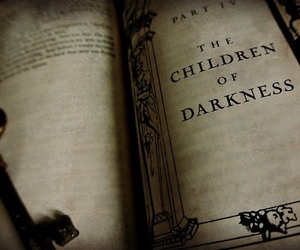 book, Darkness, and dark image