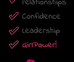 girl power, confidence, and leadership image