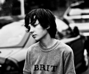 asa butterfield, boy, and black and white image