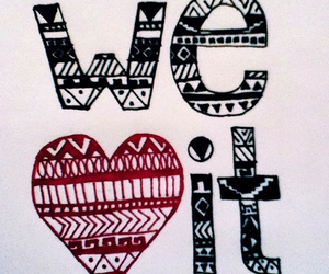 heart, we heart it, and it image