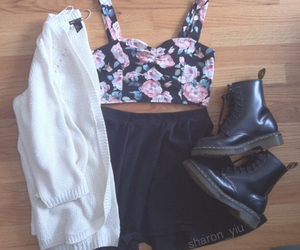 fashion and floral image