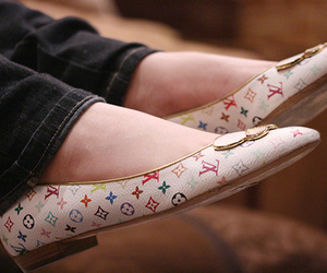 Louis Vuitton, shoes, and fashion image