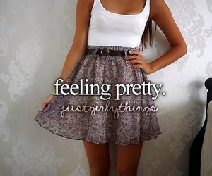 pretty, just girly things, and dress image