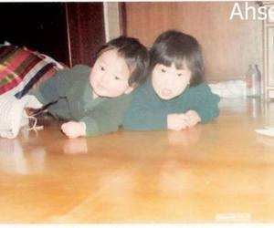 childhood, together, and Leeteuk image