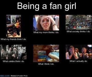 fangirl, books, and funny image