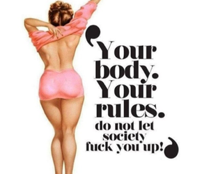 body, society, and girl power image
