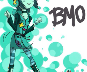 bmo, adventure time, and anime image