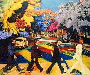 hippie and the beatles image