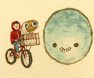 et and cute image
