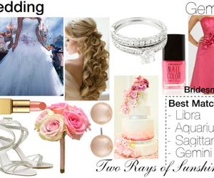 astrology, blonde, and bride image