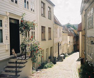 bergen, film, and house image