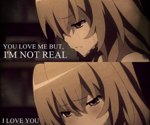 anime, toradora, and sad image