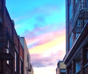 sky, city, and amazing image