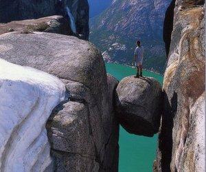 rock, norway, and amazing image