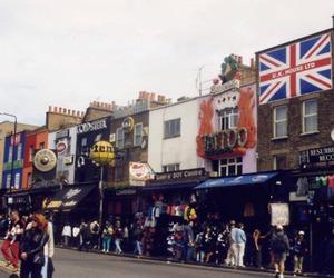 london, england, and street image