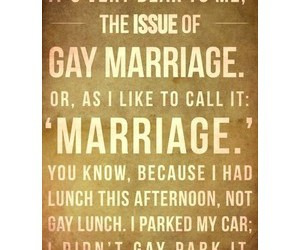 gay marriage, text, and typography image