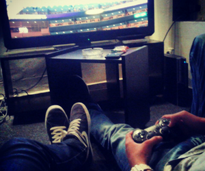 me, sony playstation, and friends image