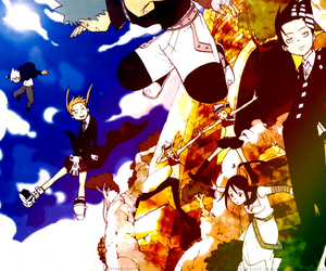 soul eater, death the kid, and soul image