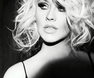 christina aguilera and beautiful image