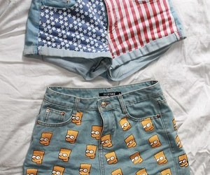 shorts, clothes, and grunge image